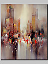 Pictat manual Abstract Peisaje Abstracte Vertical,Modern Stil European Un Panou Canava Hang-pictate pictură în ulei For Pagina de