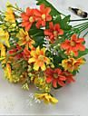 Une succursale Polyester Marguerites Fleur de Table Fleurs artificielles 88(34.5\'\')