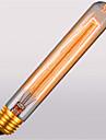 t30-225 AC110 / 220 E27 40W atmosferă retro tub fluier retro 1buc becuri decorative