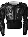 h-vie F014 moto veste de protection moto armure de corps noir rouge