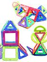 Jouets Aimantes 34 Pieces Jouets Aimantes Gadgets de Bureau Casse-tete Cube Jouets DIY Boules magnetiques Arc-en-ciel Jouets Educatifs