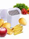 3 pieces Pomme de terre Cutter & Slicer For Pour Fruit Pour legumes Plastique Acier Inoxydable Haute qualite Creative Kitchen Gadget