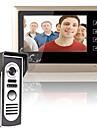 mountainone 7 inch Kit sistem ușă telefon video de soneria de la intrare interfon 1-camera de 1-monitor viziune de noapte