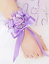 Flori de Nuntă Formă liberă Trandafiri Corsaj de mână Nuntă Petrecere / Seară Satin