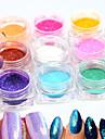 12bottle/set Manucure De oration strass Perles Maquillage cosmetique Nail Art Design