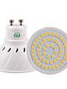 5W GU10 GU5.3(MR16) E26/E27 Spoturi LED 54 SMD 2835 400-500 lm Alb Cald Alb Rece Alb Natural Decorativ V 1 bc
