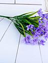 1 ramură Poliester Plastic Orhidee Față de masă flori Flori artificiale 33