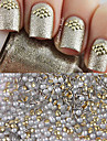 1000pcs Manucure De oration strass Perles Maquillage cosmetique Nail Art Design