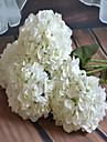 1 Une succursale Plastique Hortensias Fleur de Table Fleurs artificielles 20*20*65
