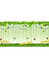 Floral Conteporan Ușă autocolant,PVC a vinyl Material fereastra de decorare