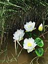 1 ramură Plastic Lotus Față de masă flori Flori artificiale