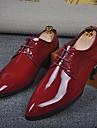 Homme Chaussures Microfibre Ete Confort Oxfords Pour Decontracte Gris Jaune Rouge