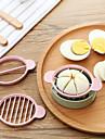 1 pieces Echalote Oignon Cutter & Slicer For Pour Egg Pour Ustensiles de cuisine Plastique Ecologique Creative Kitchen Gadget