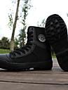 Bărbați Adidași Pantofi Usori Bumbac Vară Casual Bicilcletă Toc Plat Negru Plat
