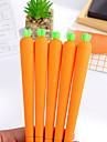 gel Pen Stilou Pixuri cu Gel Stilou,Plastic Butoi Negru Culori de cerneală For Rechizite școlare Papetărie Pachet de 12