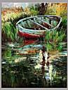 Peint a la main Nature morte Horizontale,Mediterraneen Style europeen Un Panneau Toile Peinture a l\'huile Hang-peint For Decoration