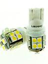 Sencart t10 ba9s 20x2835smd led blanc 6500k 80-120lm feux de frein / feu arriere ac / dc12v