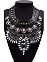 Pentru femei Coliere Bijuterii Bijuterii Piatră Preţioasă Aliaj La modă Euramerican Auriu Negru Argintiu Bijuterii Pentru Petrecere 1 buc