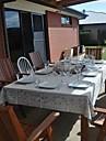 Rectangulaire Brode Nappes de table , Lin MaterielDecoration Soiree Mariage Mariage Banquet Decorations de Noel Tableau Dceoration