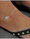 Dame Bijuterii de corp Lănțișor Picior La modă Aliaj Copacul Vieții Argintiu Bijuterii Pentru Casual 1 buc