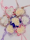 10 Pieces 10 Une succursale Soie Polyurethane Autres Roses Fleur de Table Fleurs artificielles