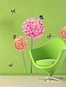Animale Desene Animate Florale Perete Postituri Autocolante perete plane Autocolante de Perete Decorative,Vinil MaterialPagina de