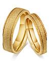 Pentru cupluri Inele Cuplu Verighete Inel Vintage stil minimalist Clasic Oțel titan Round Shape Bijuterii PentruNuntă Petrecere Logodnă