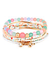 Pentru femei Bratari Strand Bijuterii Natură Treapie Magnetică DIY bijuterii de lux Reșină Circle Shape Bijuterii PentruPetrecere Ocazie