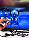 Atmosphere de voiture lampe telecommande sans fil decoration de sol interieur lampe a pied lumiere ambiante rgb lampe a neon