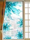Floral/Botanic Autocolant Geam,PVC a vinyl Material fereastra de decorare