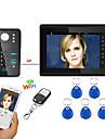 7inch wifi / wireless wifi rfid parola video ușă telefon ușă interfon sistem upport app de la distanță deblocare înregistrare instantaneu