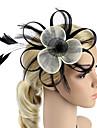 Femei Pană Net Diadema-Nuntă Ocazie specială Pălărioare Flori 1 Bucată
