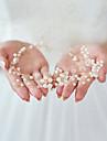 Imitație de Perle Diadema-Nuntă Ocazie specială Halloween Zi de Naștere Party/Seara Cordeluțe 1 Bucată