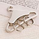 Pochromovaný Přívěsky na klíče ODMĚNY Piece / Set Klíčenky Klasický motiv Stříbrná