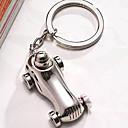 Pochromovaný Přívěsky na klíče ODMĚNY Piece / Set Klíčenky Zahradní motiv Stříbrná