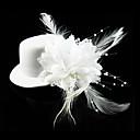 Žene / Prodavačica cvijeća Čipka / Flanel Glava-Vjenčanje / Special Occasion / Neformalan / Outdoor Šeširi