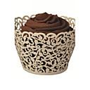 12 Kusů v sadě Favor Holder-kreativita Lepenkový papír Papírky a krabičky na cupcaky Nepřizpůsobeno