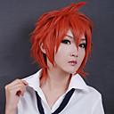 Cosplay Wigs Haikyuu Tetsuo Kaga Crvena Short Anime Cosplay Wigs 30 CM Otporna na toplinu vlakna Male