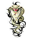 5 kom zmija vodootporni privremeni tattoo (6m * 6 cm)