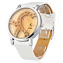 Dámské Módní hodinky japonština Křemenný imitace Diamond Silikon Kapela Třpyt Heart Shape Bílá Bílá