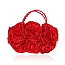 Žene Svila Zabave Večernja torbica Bijela Bež Ružičasta Crvena Crna Svjetlosmeđ Kristalne