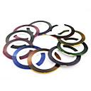1 kom role trake linija trake naljepnicu noktiju ukras (11 boja za izbor)