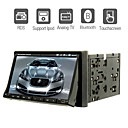 "7"" 2 Din LCD Touch Screen In-Dash Car DVD Player With Bluetooth,RDS,iPod-Input,ATV"