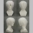 Cosplay Wigs NO.6 Cosplay Bijela Short Anime Cosplay Wigs 30 CM Male / Female