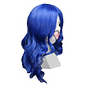Cosplay Wigs Vocaloid KAITO Plava Medium Anime / Video Igre Cosplay Wigs 55 CM Otporna na toplinu vlakna Male
