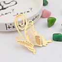 蝶テーマ-しおり&レターオープナー(ゴールド) -非パーソナライズ 亜鉛合金