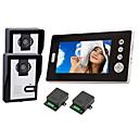 """2.4GHz bezdrátová 7 """"lcd monitor domácí bezpečnostní video dveřní telefon a intercom systém"""