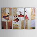 手描き 抽象画 油絵 中枠付き (3ピースセット) HB-682