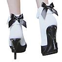 ソックス/ストッキング 甘ロリータ プリンセス ホワイト ロリータアクセサリー ストッキング 蝶結び のために 女性 ナイロン
