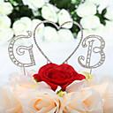 Figure za torte Non-personalizirane Jastuk / Hearts Sretan 16.! / Godišnjica / Rođendan / Vjenčanje Umjetno drago kamenje PinkKlasični